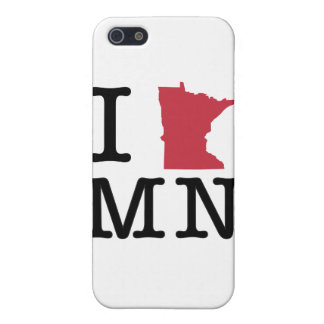 I Love Minnesota iPhone 5/5S Cases