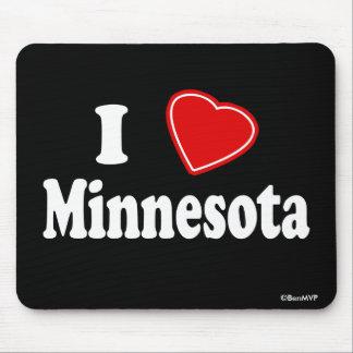 I Love Minnesota Mouse Mat