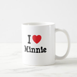 I love Minnie heart T-Shirt Mug