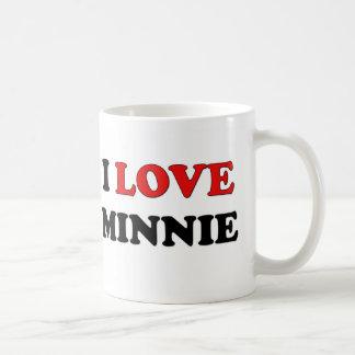 I Love Minnie Coffee Mugs