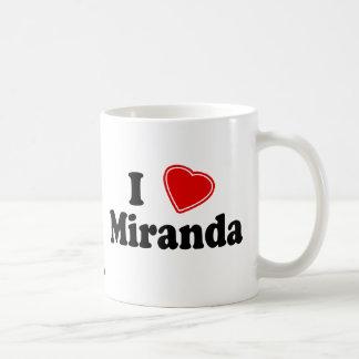 I Love Miranda Coffee Mug