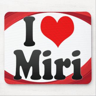 I Love Miri Malaysia Mouse Pads