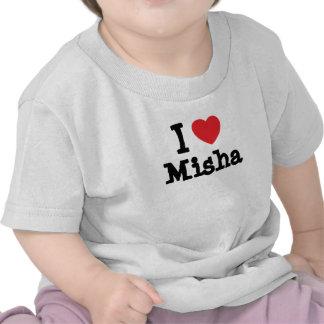 I love Misha heart T-Shirt