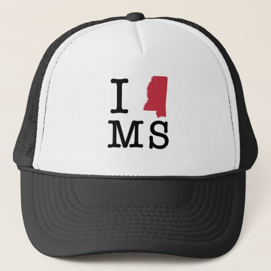 I Love Mississippi Cap