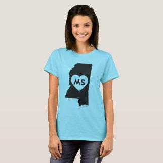 I Love Mississippi State Women's Basic T-Shirt