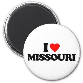 I LOVE MISSOURI MAGNET