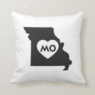 I Love Missouri State Pillow