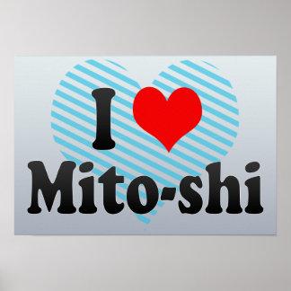 I Love Mito-shi, Japan. Aisuru Mito-Shi, Japan Print