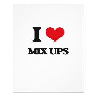 I Love Mix Ups Full Color Flyer