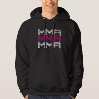 I Love Mixed Martial Arts and Fighting v03, White Hoody