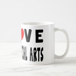 I Love Mixed martial arts Martial Arts Mug