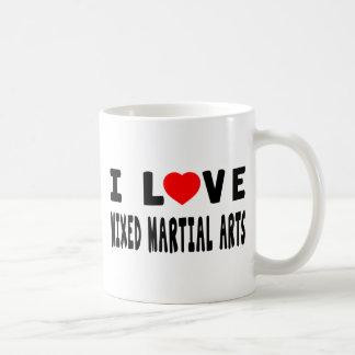 I Love Mixed martial arts Martial Arts Mugs