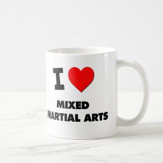 I Love Mixed Martial Arts Classic White Coffee Mug