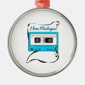 I Love Mixtapes! Ornament
