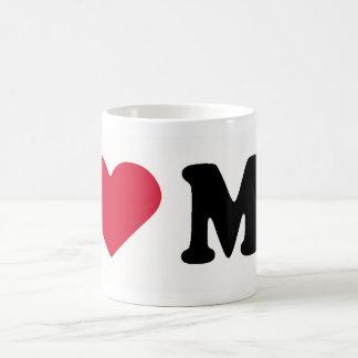 I LOVE MO COFFEE MUGS