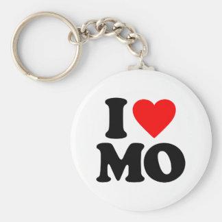I LOVE MO KEY RING