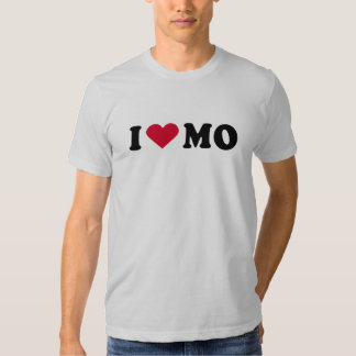 I LOVE MO SHIRT