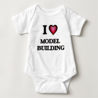I Love Model  Building Tees