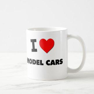 I Love Model Cars Coffee Mugs