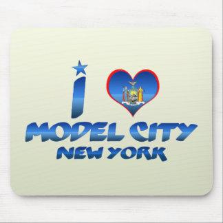 I love Model City New York Mousepads