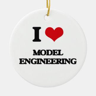 I Love Model Engineering Christmas Tree Ornaments