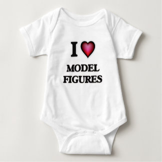 I Love Model Figures Tshirt