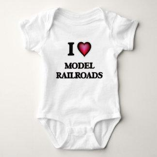 I Love Model Railroads Tees