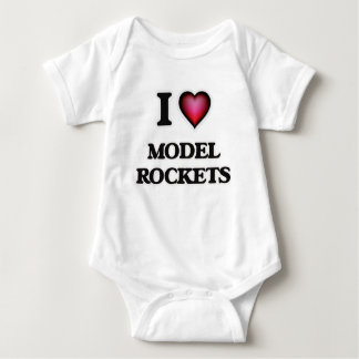 I Love Model Rockets T Shirts