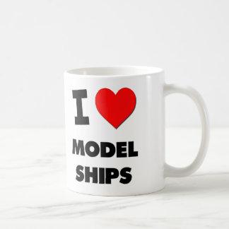 I Love Model Ships Mugs