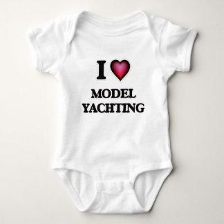 I Love Model Yachting Tshirts