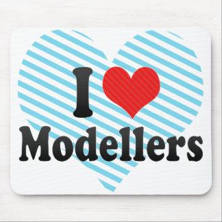 I Love Modellers Mousepad