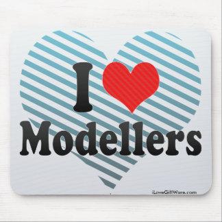 I Love Modellers Mousepads