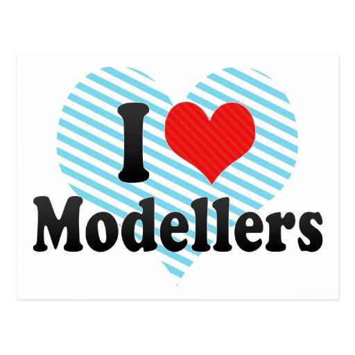 I Love Modellers Post Cards