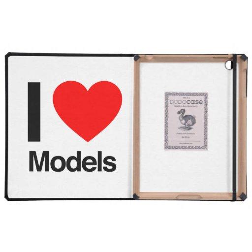 i love models covers for iPad