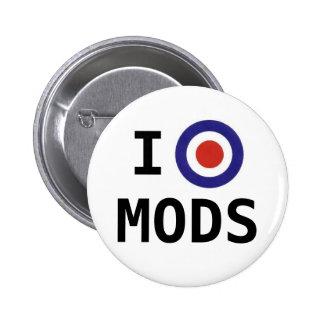 I Love Mods Button