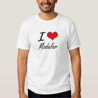 I Love Modular T Shirts