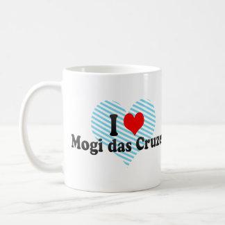 I Love Mogi das Cruzes, Brazil Basic White Mug