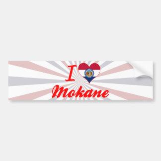 I Love Mokane, Missouri Bumper Sticker