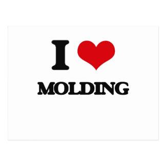 I Love Molding Postcard