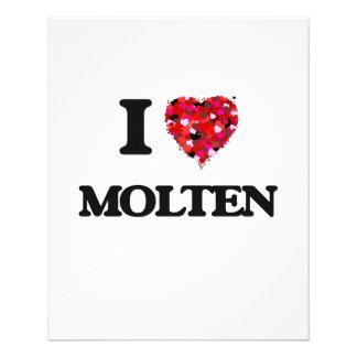 I Love Molten 11.5 Cm X 14 Cm Flyer