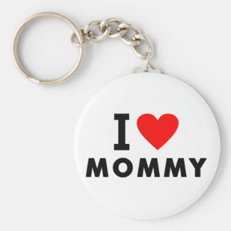 i love mom heart mommy text message mother symbol key ring