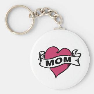 I love mom key chain