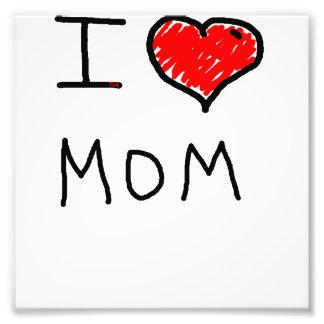 i love mom photo
