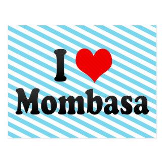 I Love Mombasa, Kenya Postcard