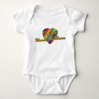I Love Mommy & Mama Shirts
