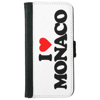 I LOVE MONACO iPhone 6 WALLET CASE