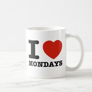 I love Mondays Coffee Mug