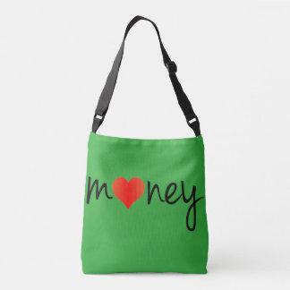 I love money awesome designer cross body bag. crossbody bag