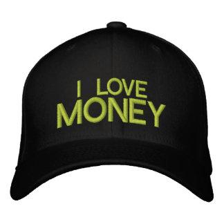 I LOVE MONEY -  CAP by eZaZZleMan Baseball Cap