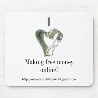 I love money mouse pad